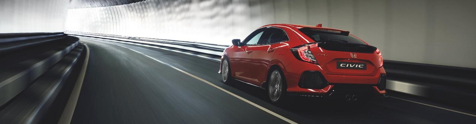 Honda – New Civic rear